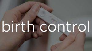 "pregnancy test with phrase ""birth control"""