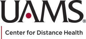 UAMS center for distance health logo